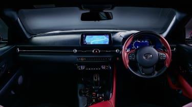 Toyota GR Supra 2.0 - dash