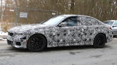 G20 BMW 3-series spy - quarter