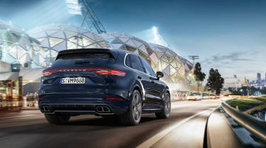 Porsche Cayenne Turbo – rear quarter