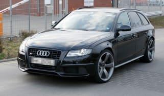 New Audi RS4 sports saloon spy shots