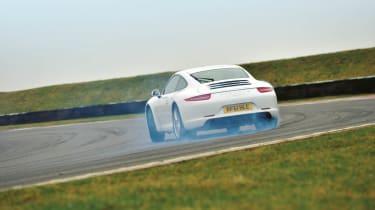 991 Porsche 911 Carrera S drift