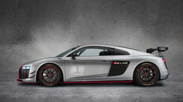 Audi R8 LMS GT4 side profile