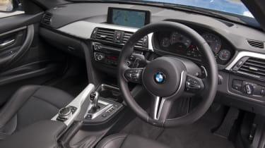 BMW M3 interior