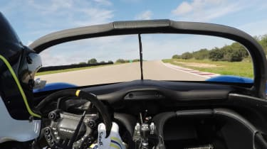 Dallara Stradale - dash