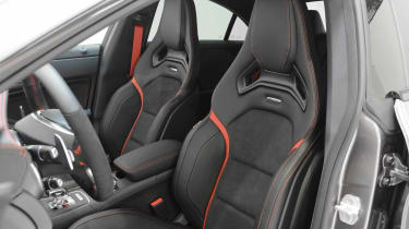 Brabus-tuned Mercedes CLA 45 AMG front seat