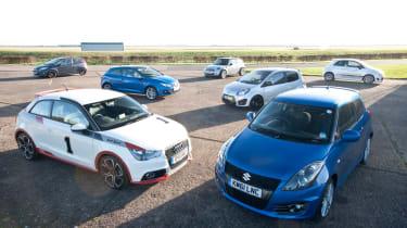 Supermini supertest, Suzuki Swift Sport and rivals