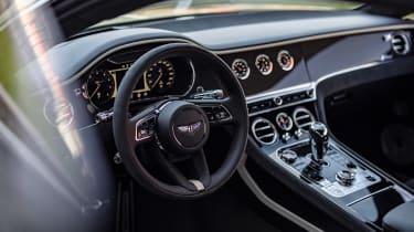 Bentley Continental GT Speed UK – interior