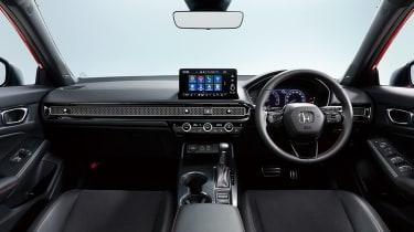 2022 Honda Civic Type R prototype – interior