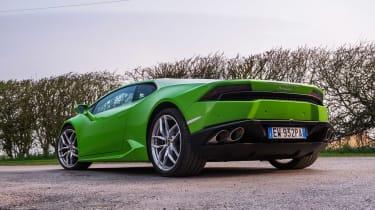 Lamborghini Huracan LP 610-4 rear