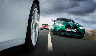 BMW M3 Group from evo 287 – three-car tracking