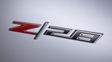 2014 Chevrolet Camaro Z28 badge