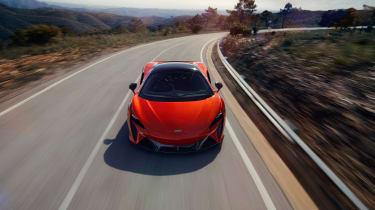 McLaren Artura revealed - orange nose