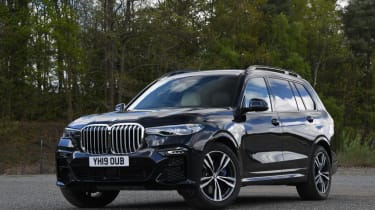 BMW X7 review - static