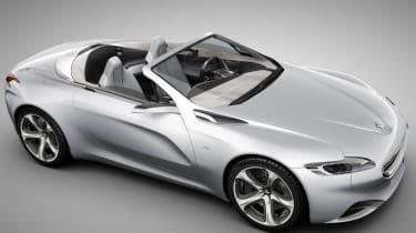 Peugeot SR1 concept supercar