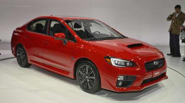 New Subaru WRX red