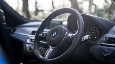 BMW X2 – Steering wheel