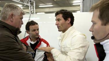 Porsche 2014 LMP1 Le Mans car testing