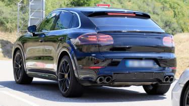 Porsche Cayenne Coupe spy - rear
