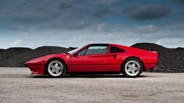 Ferrari 308 side profile