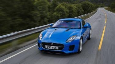 Jaguar F-type four-cylinder tracking high