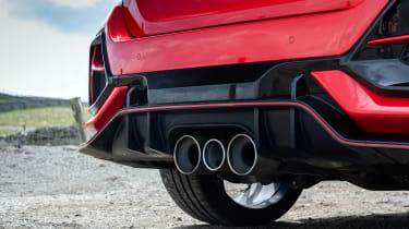 Hot hatchback triple – exhausts CTR