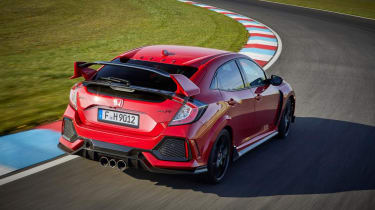 Honda Civic Type R - rear tracking