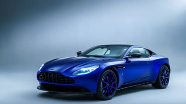 Q by Aston Martin DB11 - front three quarter