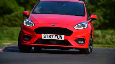 Ford Fiesta ST-Line UK - front