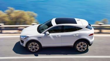 Jaguar E-Pace - white profile