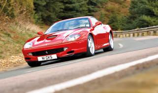 Ferrari 550 Maranello front