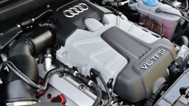 Audi S5 supercharged V6 engine
