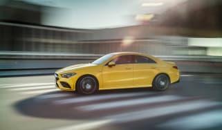 Mercedes-AMG CLA35 - side