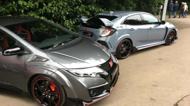 Goodwood Festival of Speed - Civic Type R