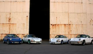 Porsches at Historit by Matt Biggs (@PawnSacrifice)