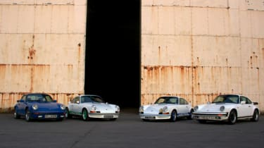 Porsches at Historit by Matt Biggs (@PawnSacrifice)