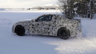 2022 BMW M2 spied side
