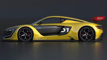 Renault R.S 01 race car unveiled