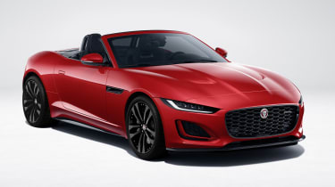 Jaguar F-type R-Dynamic Black front