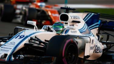 F1 Round 20 - Williams