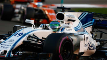 F1 Round 20 - Williams