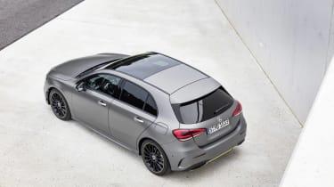 Mercedes-Benz A-class rear three quarter high