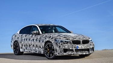 BMW M5 prototype - front three quarter