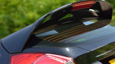 2013 Ford Fiesta 1.0 Ecoboost Zetec S rear spoiler
