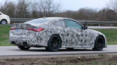 BMW M4 CS prototype 2021 - rear quarter