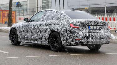 G20 BMW 3-series spy - rear quarter