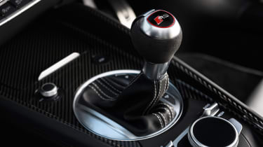Audi TT RS Roadster – Gear selector
