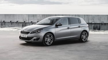 New Peugeot 308 silver front