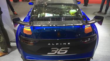 Alpine A110 GT4 – rear