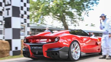 Ferrari F12 TRS Goodwood hill climb