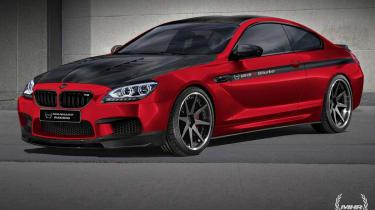 Manhart Racing tuned BMW M6